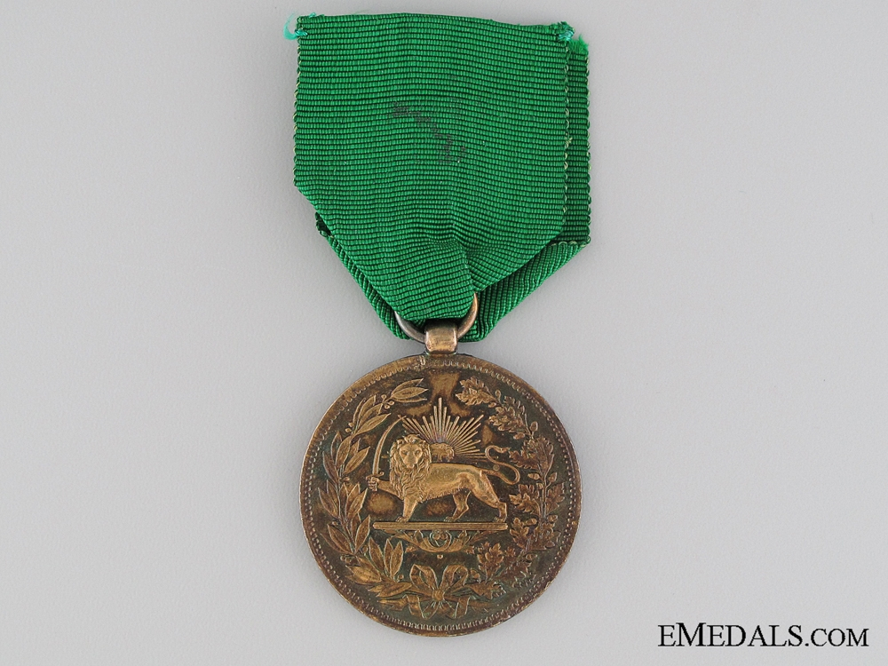 eMedals-Iranian Medal for Bravery; Gold Grade