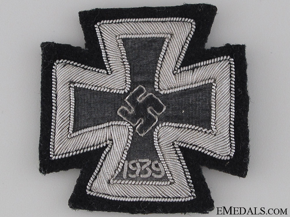 eMedals-Iron Cross 1939 1st. Cl. – Cloth Version