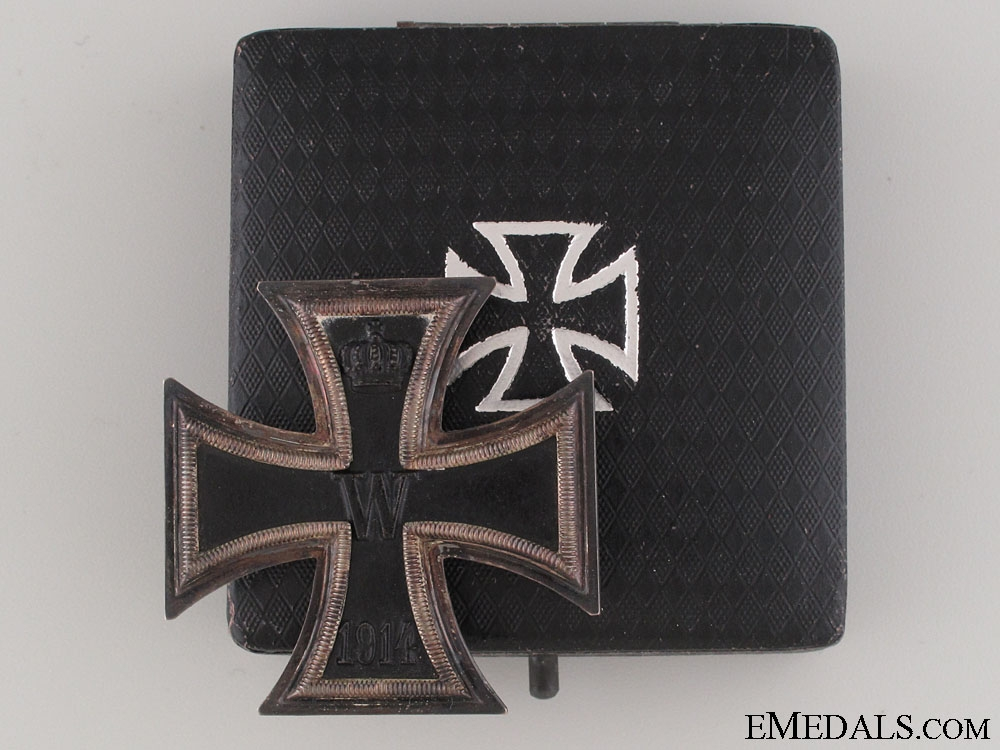 eMedals-Iron Cross 1st Class 1914 – Marked & Silver