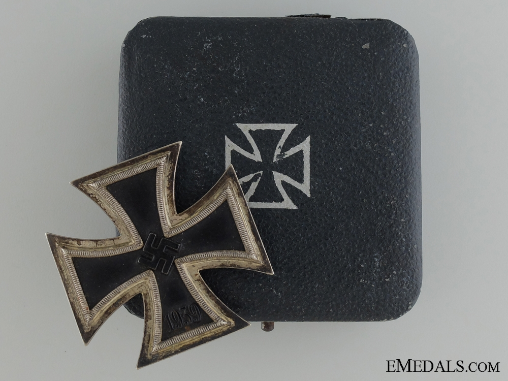 eMedals-Iron Cross First Class 1939; with Case of Issue