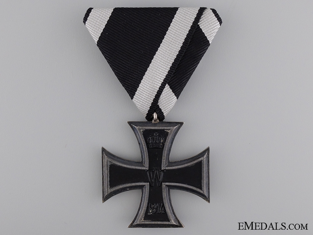 eMedals-Iron Cross Second Class 1914 with Austrian Ribbon