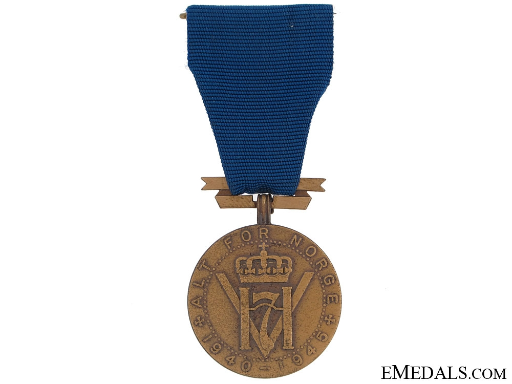 eMedals-King Haakon VII's Freedom Medal 1940-1945