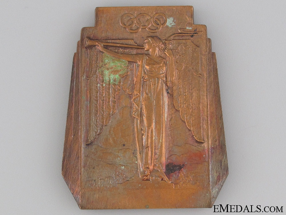 eMedals-Medal for Lake Placid Olympic Games 1932