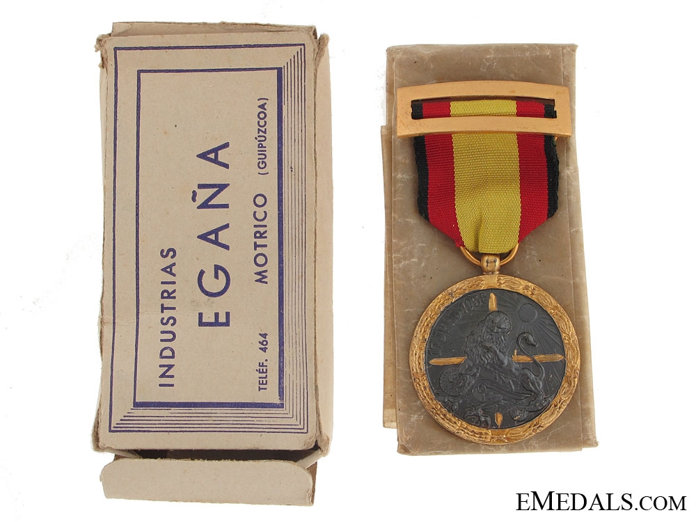 eMedals-Medal for the Campaign of 1936-1939