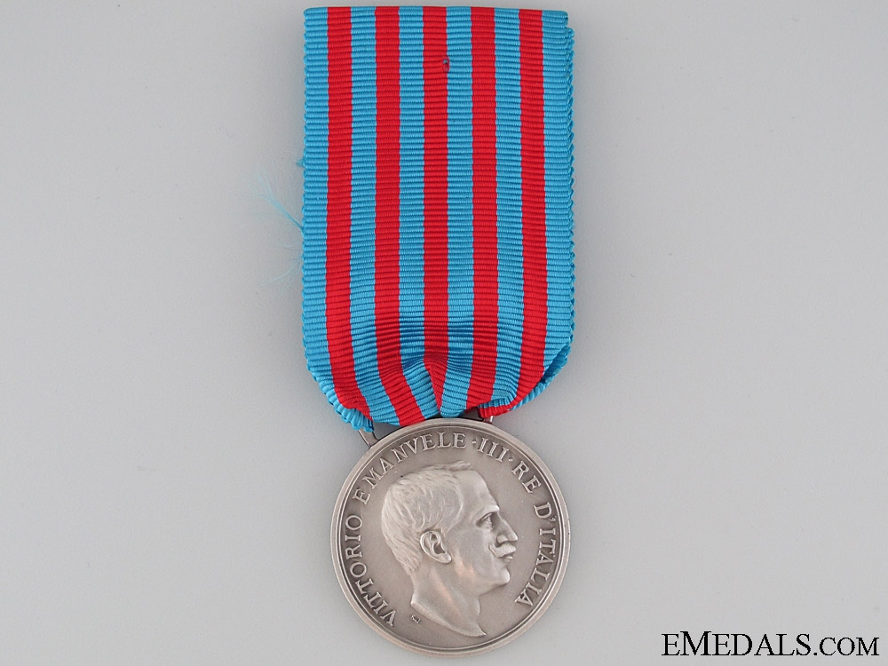 eMedals-Medal for the Italian - Turkish War