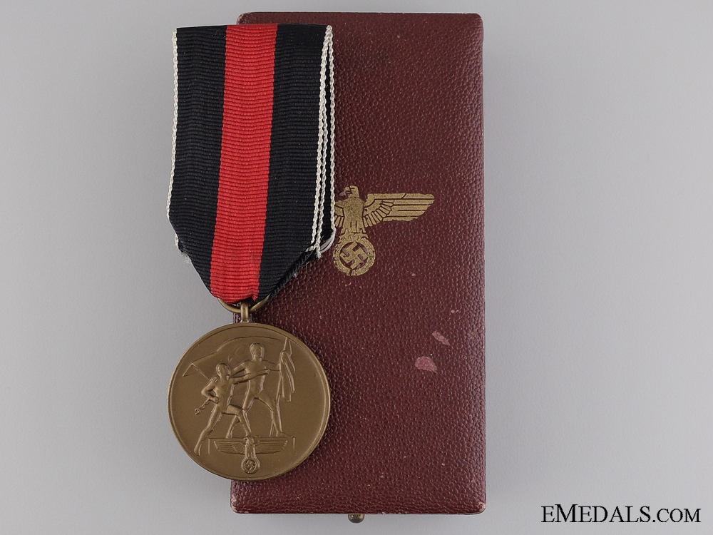 eMedals-Medal to Commemorate 1 October 1938