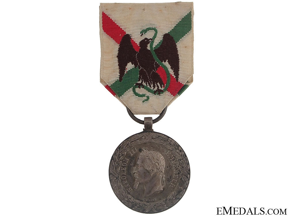 eMedals-Mexico Expedition Medal, 1862-1863