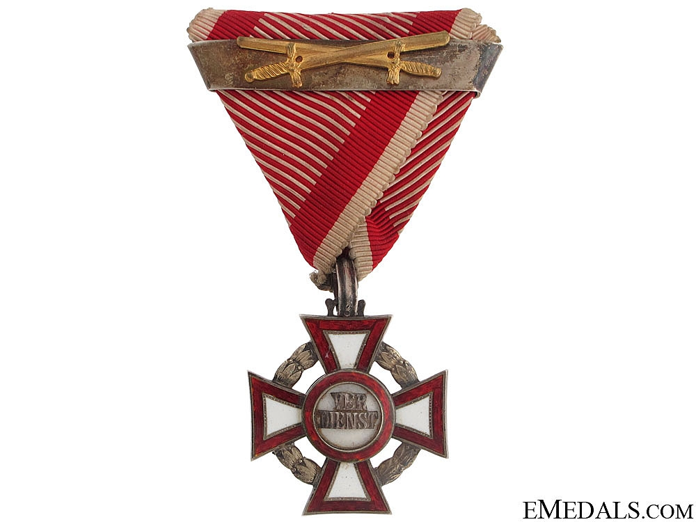 eMedals-Military Merit Cross with War Decoration by Mayer