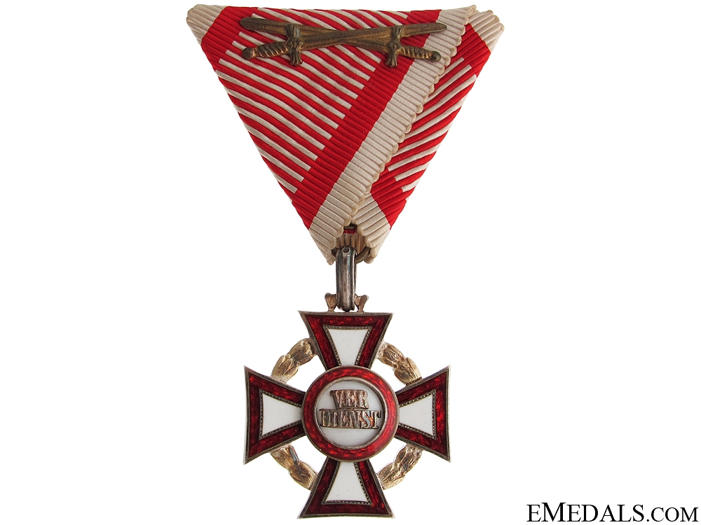 eMedals-Military Merit Cross with War Decoration