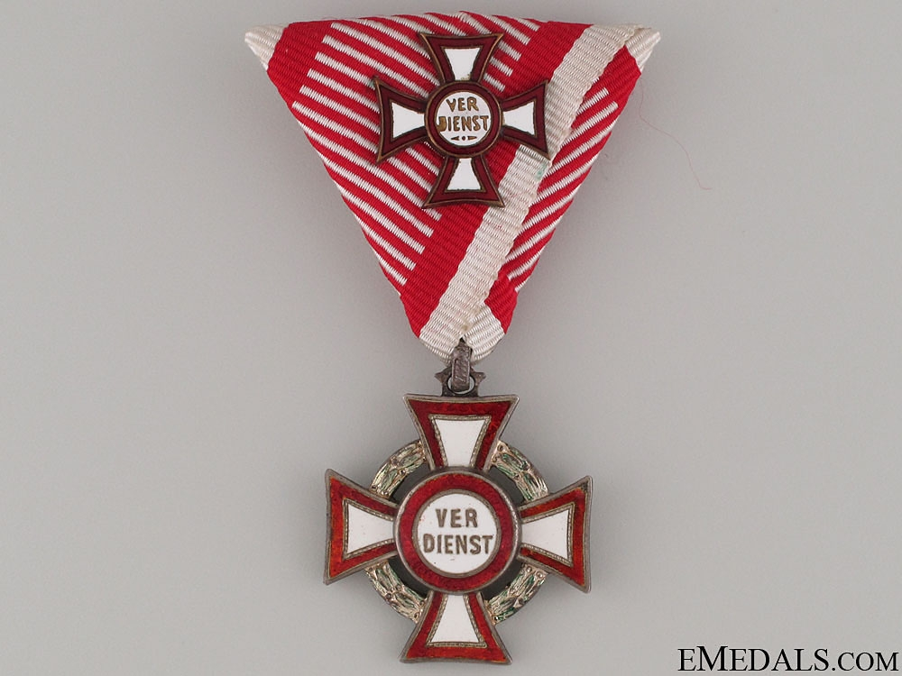 eMedals-Military Merit Cross with 1st Class with Decoration
