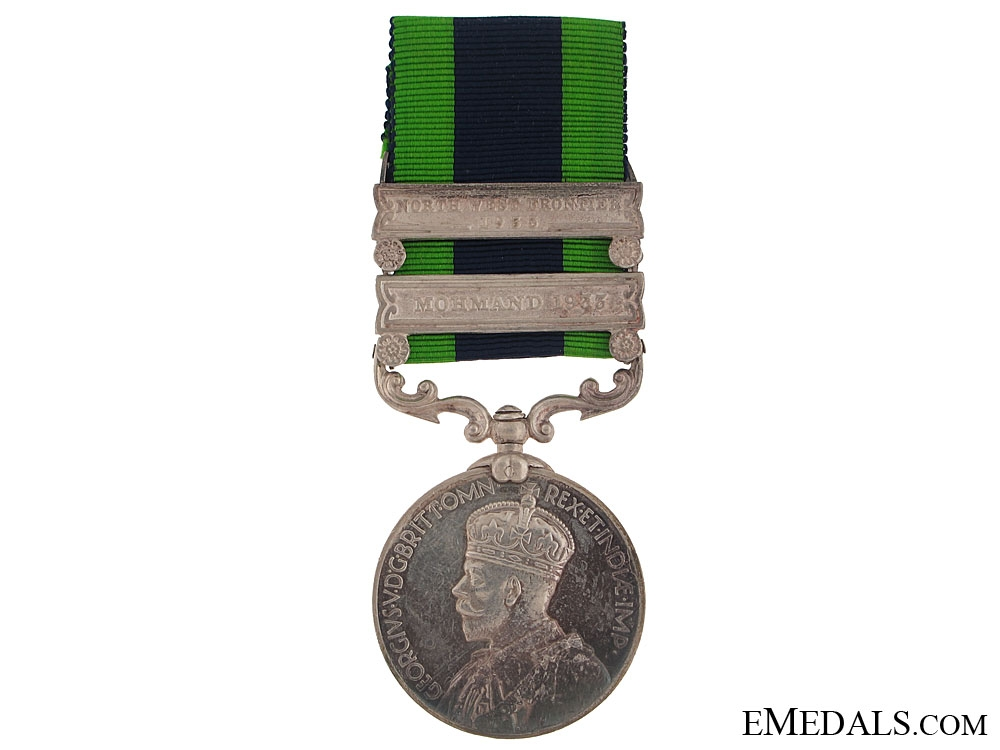 eMedals-India General Service Medal - 12th Frontier Force Regiment