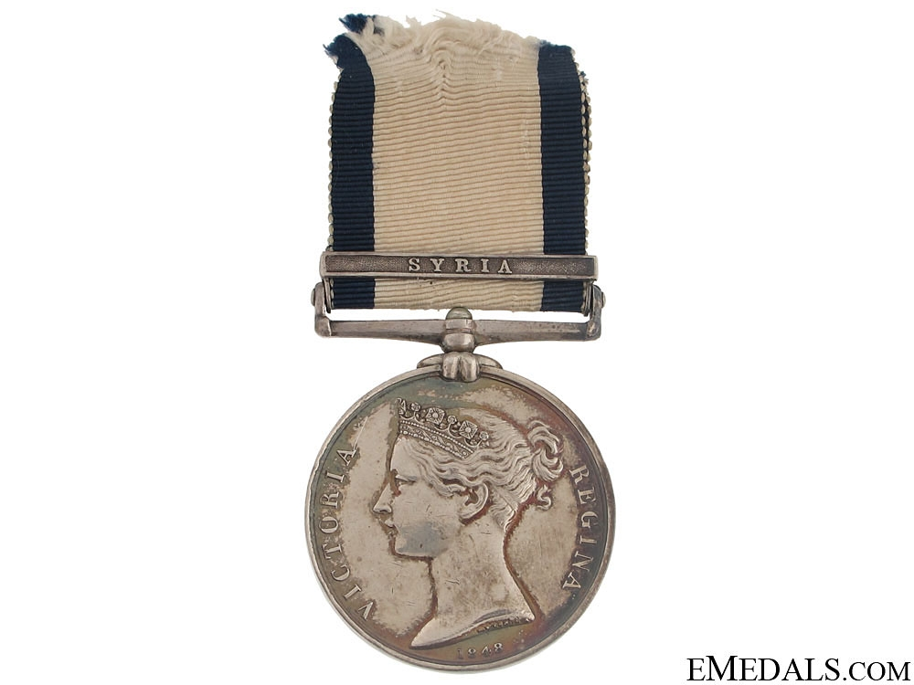 eMedals-Naval General Service Medal - Syria