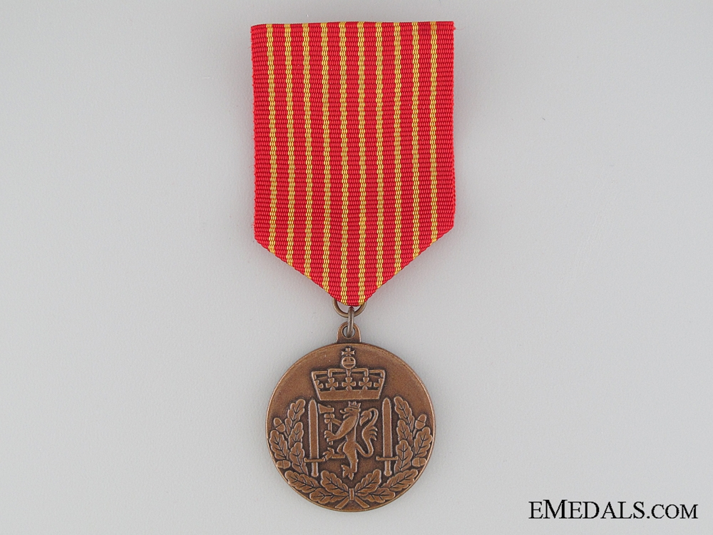 eMedals-Norwegian Army National Service Medal