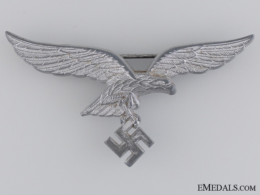 eMedals-Officers White Summer Tunic Breast eagle