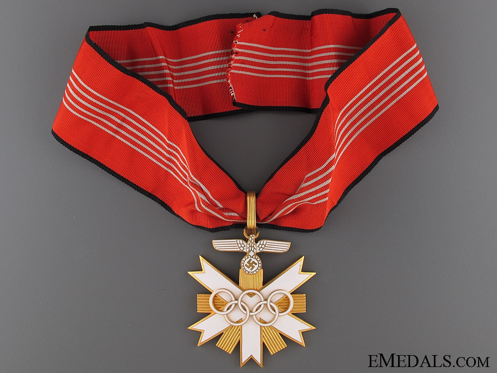 eMedals-Olympic Games 1936 Decoration - 1st Class  4800