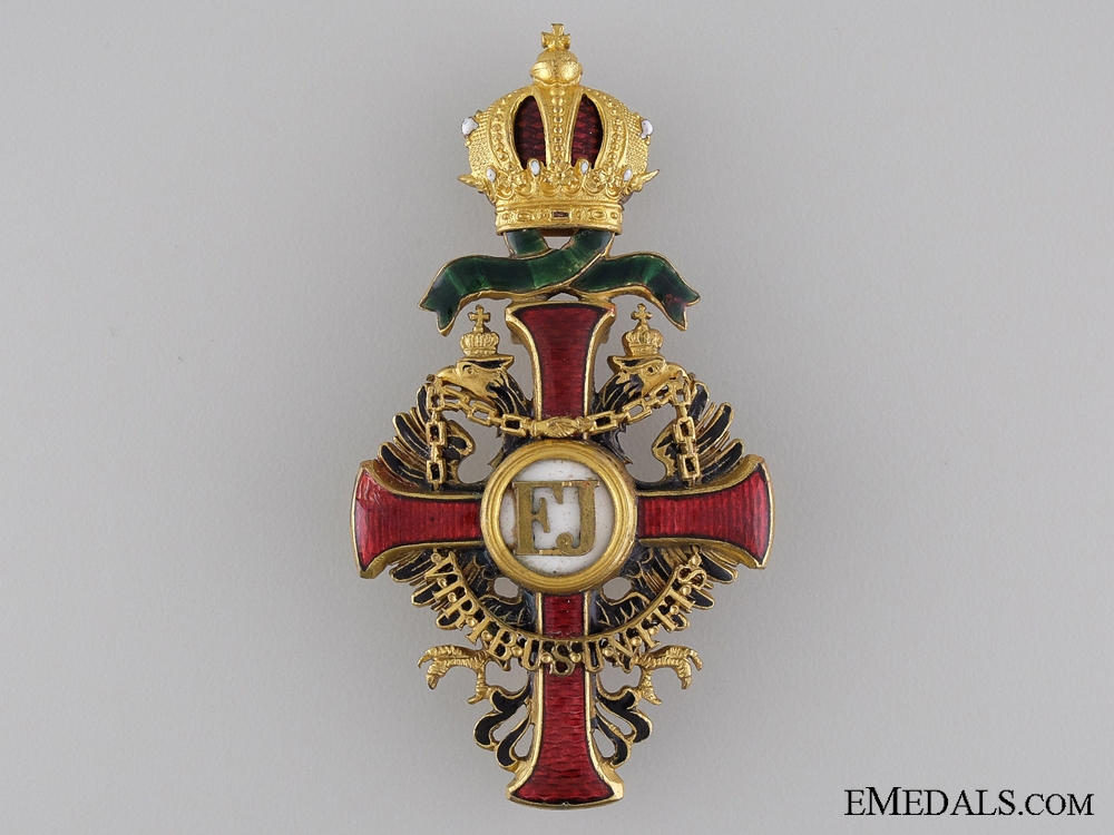 eMedals-Order of Franz Joseph by Vinc Mayer: Officers Cross with War Decoration