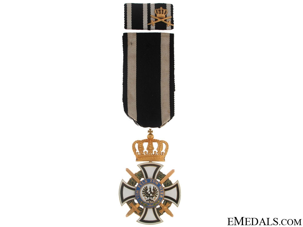 """eMedals-Order of Hohenzollern """"¢¤ Gold"""