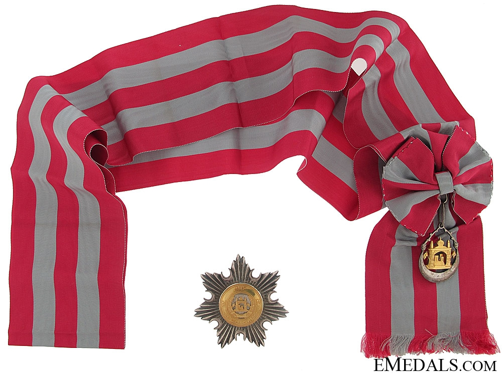 eMedals-Order of Independence - Grand Cross Set