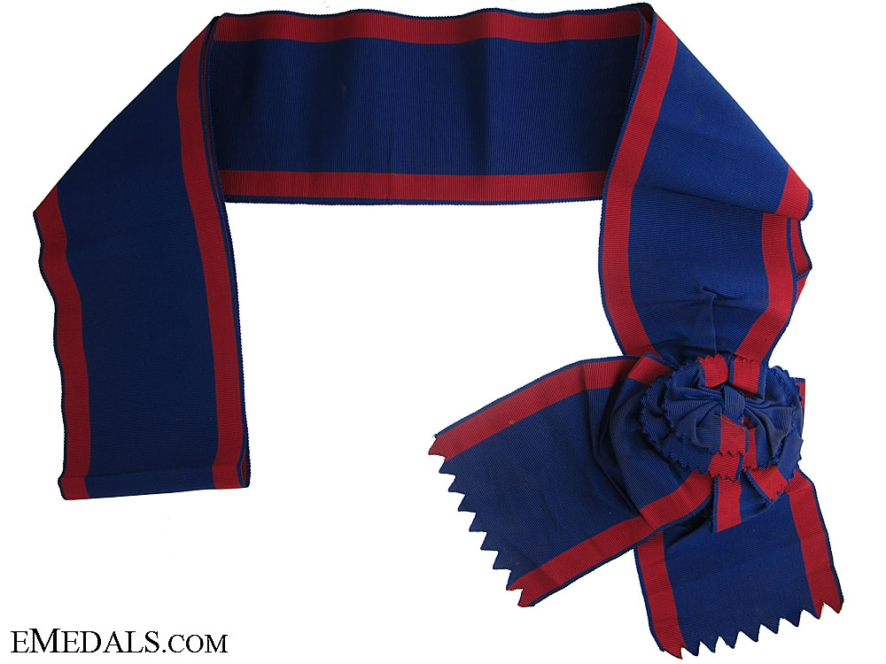 """eMedals-Order of Ismail 1915 """"¢¤ Sash"""