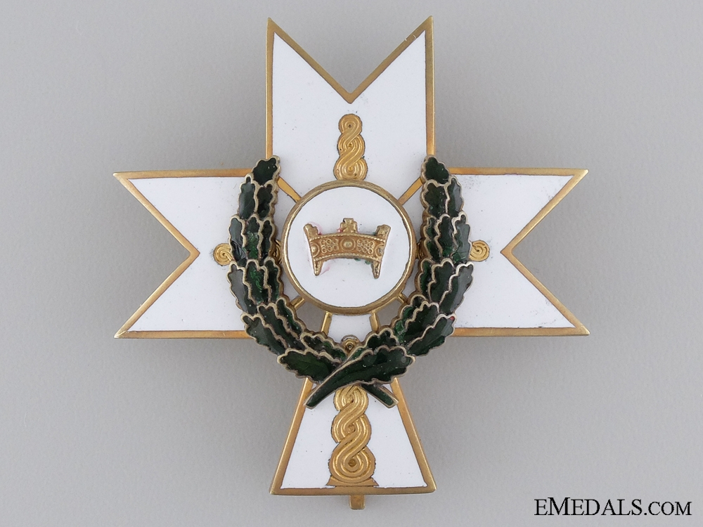 eMedals-Order of King Zvonimir with Oakleaves; Second Class Cross