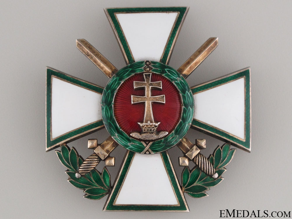 """eMedals-Order of Merit """"¢¤ Officer""""¢¯s Cross with Swords"""