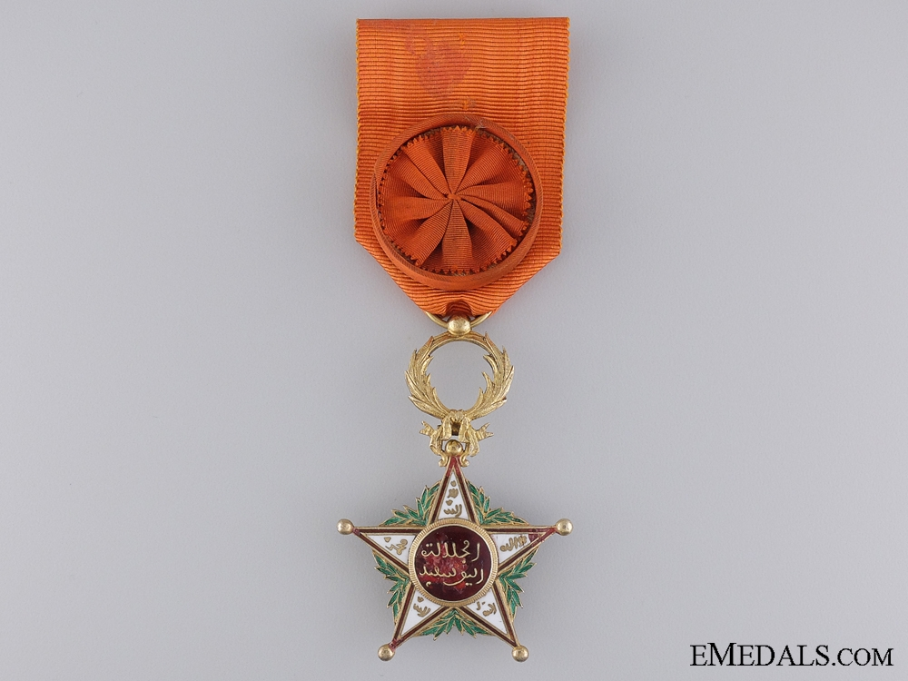eMedals-Order of Ouissam Alaouite; Officer