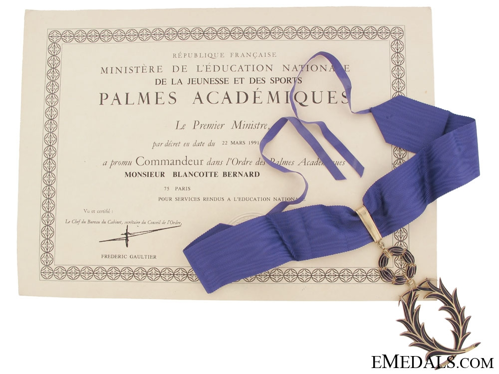 eMedals-Order of the Academic Palms