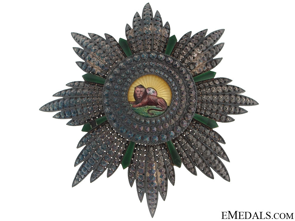 eMedals-Order of the Lion and Sun by A. Bertrand, Paris