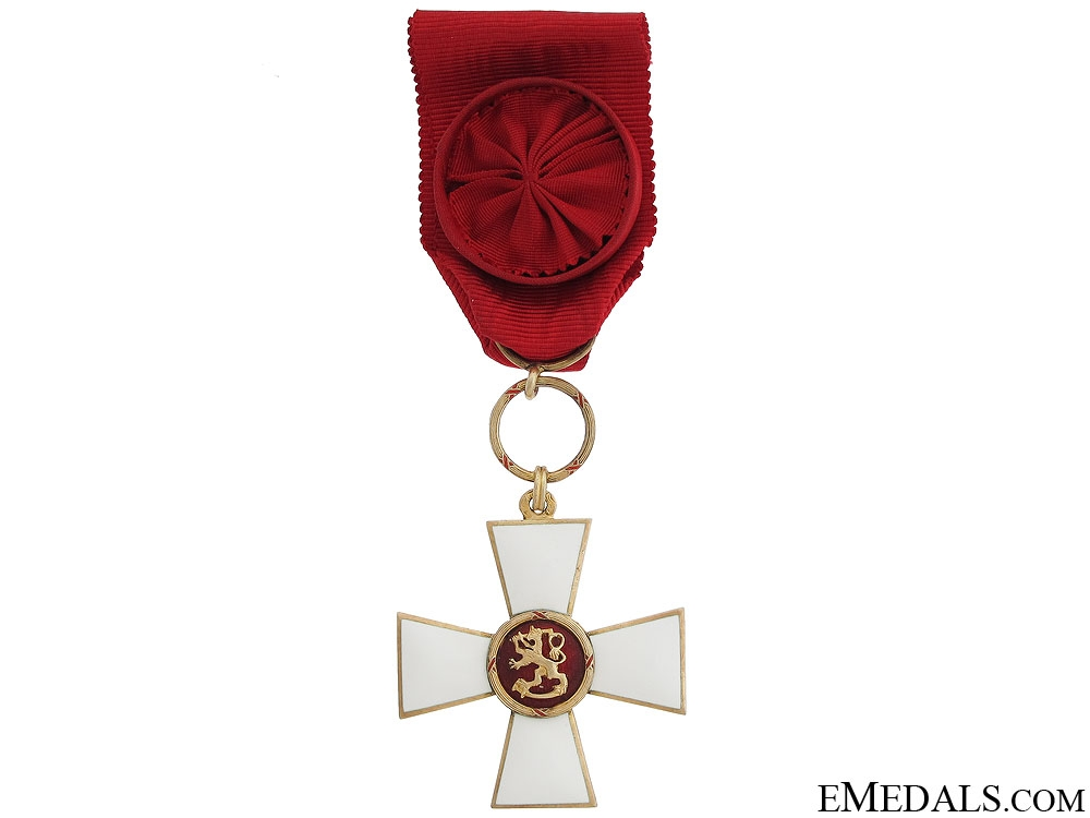 eMedals-Order of the Lion of Finland