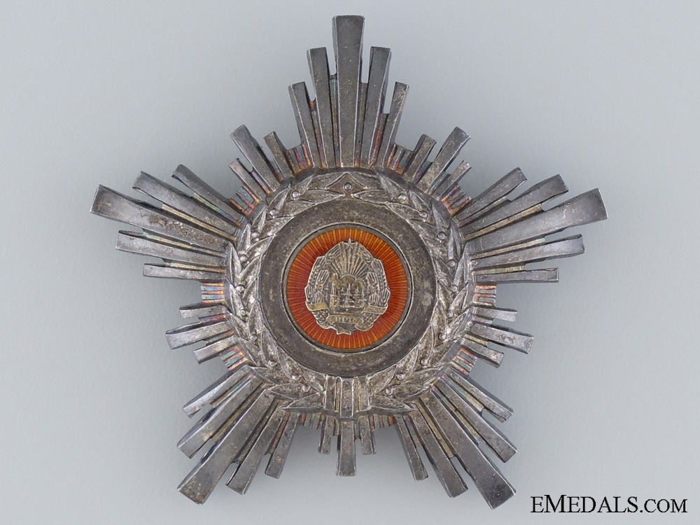 eMedals-Order of the Romanian Star; Fifth Class