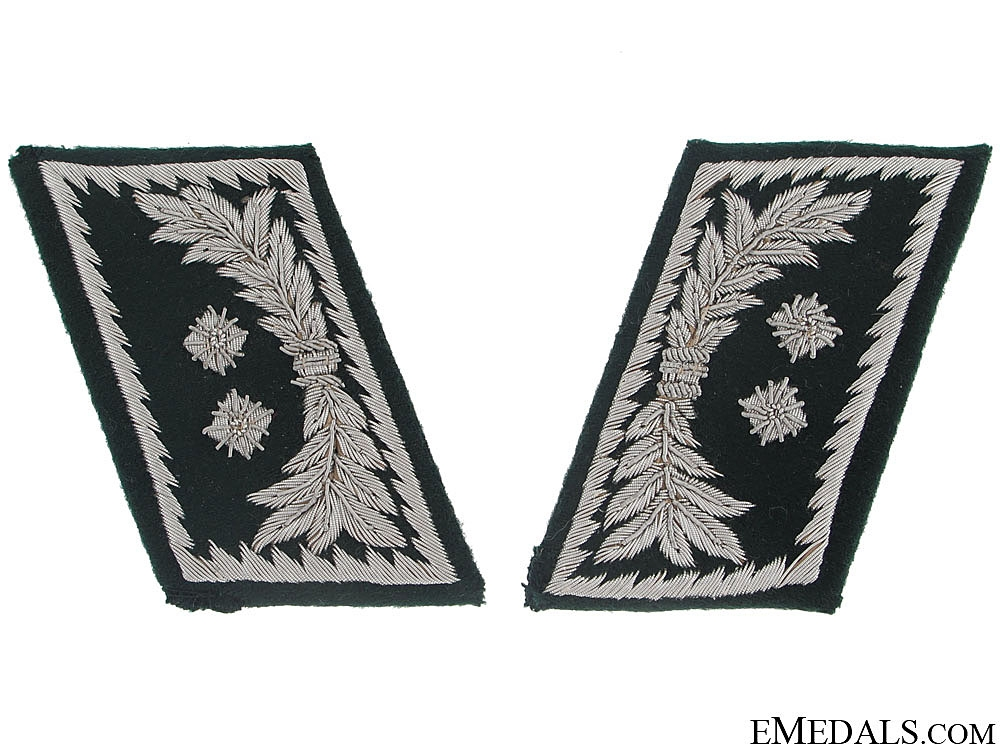 eMedals-Pair of Collar Tabs - Customs Officer