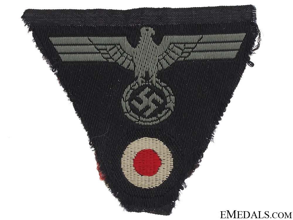 eMedals-Panzer M43 Trapezoid Cap Insignia