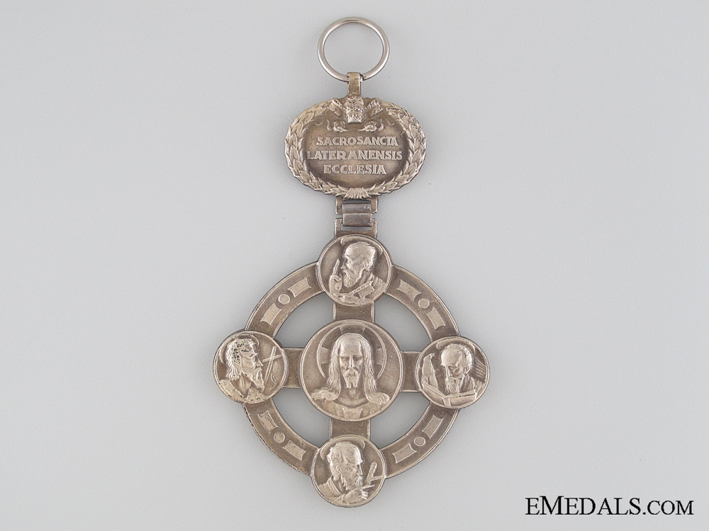 eMedals-Papal Lateran Cross - Silver Grade