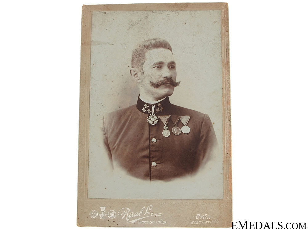 eMedals-Photo of Austrian Officer wearing St. Stanislaus