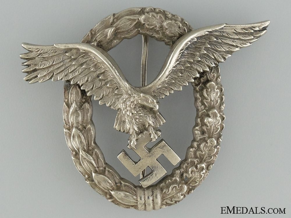 eMedals-Pilots Badge; Tombac by Juncker
