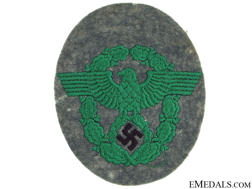eMedals-Police Enlisted Sleeve Patch
