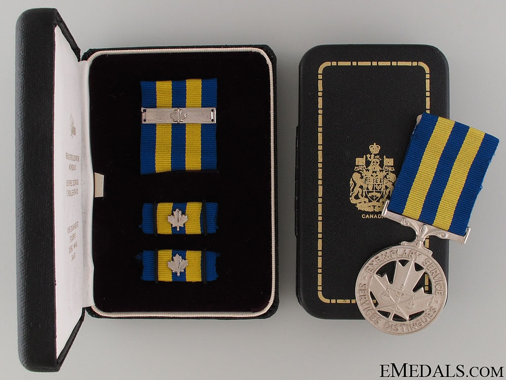eMedals-Police Exemplary Service Medal