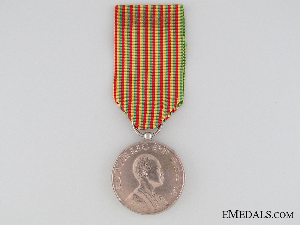 eMedals-Police Ghana Republic Day Medal 1960