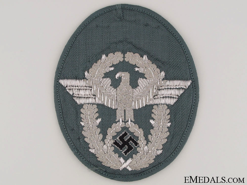 eMedals-Police Officer's Sleeve Eagle