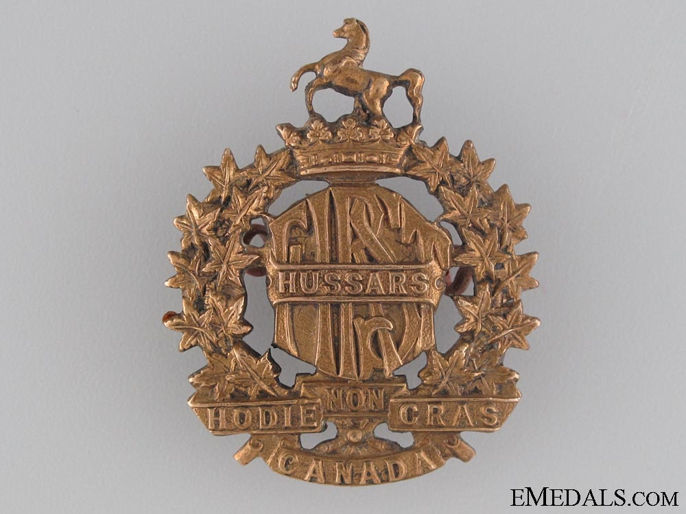 eMedals-Pre-WWI First Hussars Cap Badge