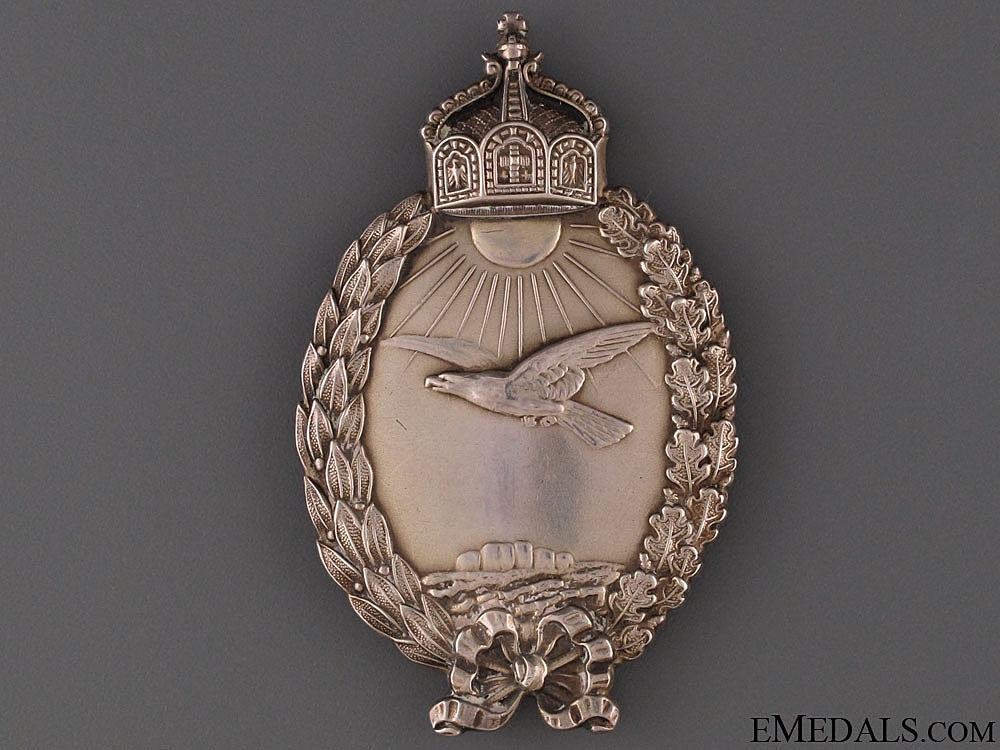 eMedals-Prussian Badge for Naval Pilots on Seaplanes