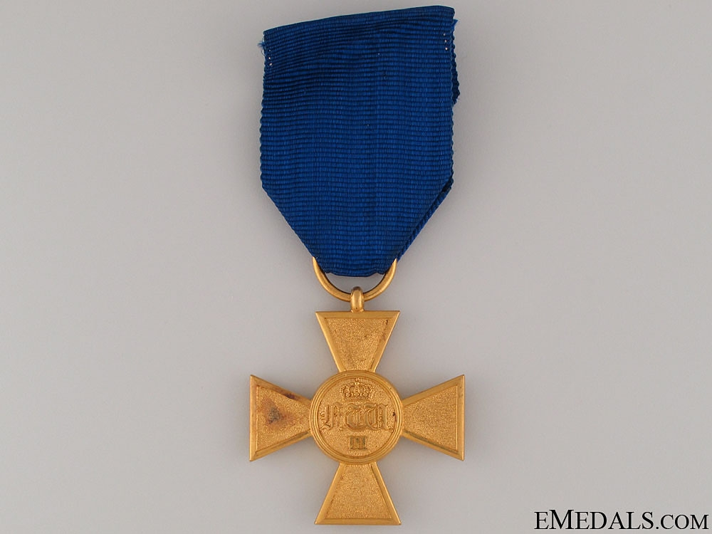 eMedals-Prussian Officers 25 Years Service Cross