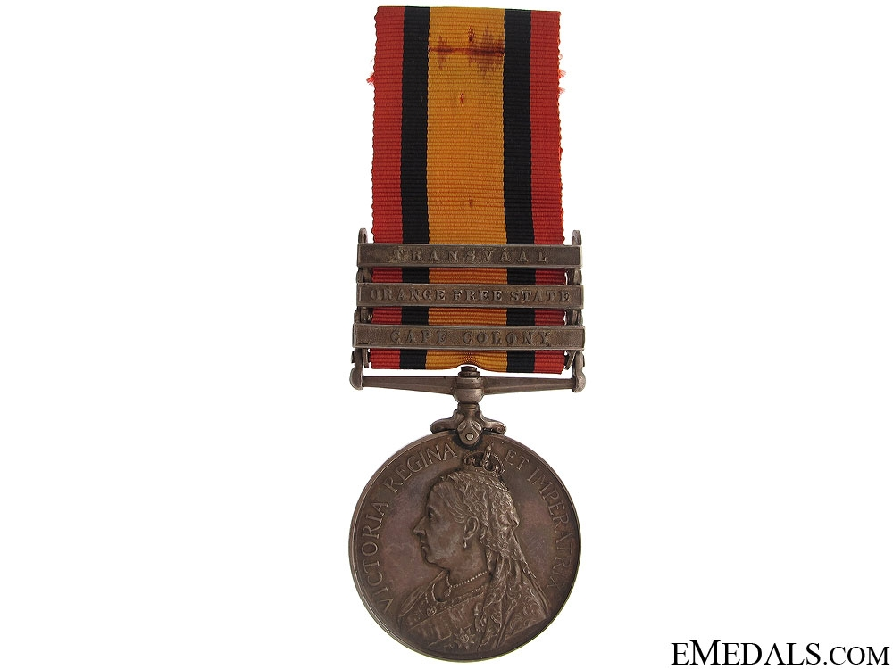 eMedals-Queen's South Africa Medal 1899 - SAC
