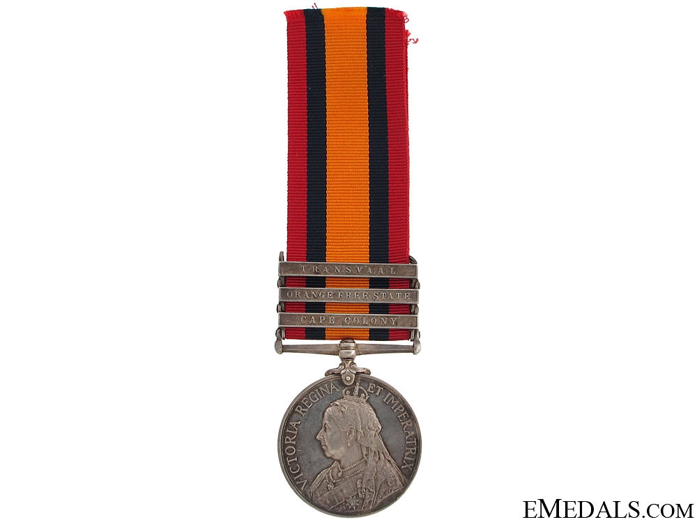 eMedals-Queen's South Africa Medal - Kitchener's Horse