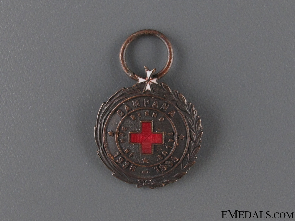 eMedals-Red Cross Campaign Medal 1936-1939