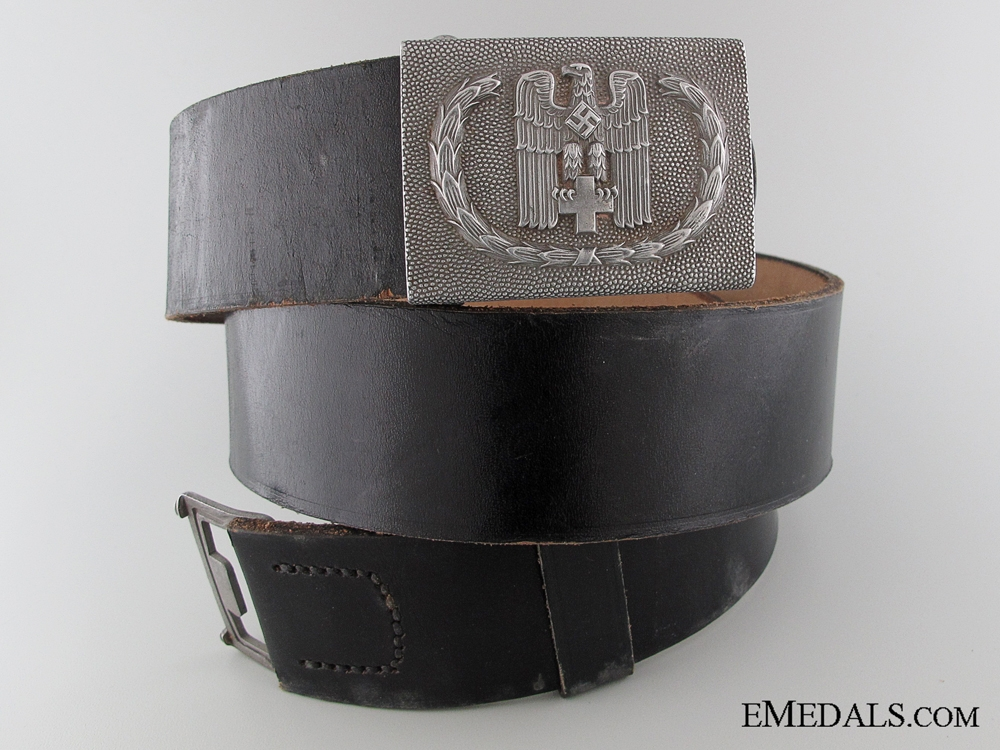 eMedals-Red Cross Enlisted Belt with Buckle