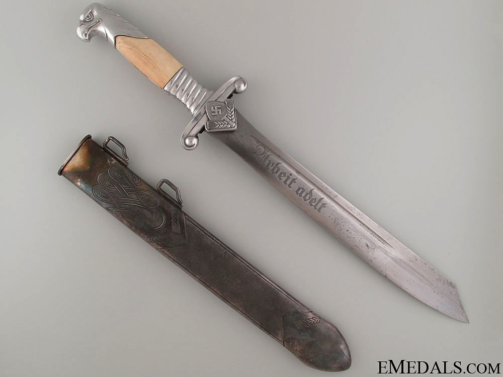eMedals-A Fine RAD Leader Dagger by E.F.Horster