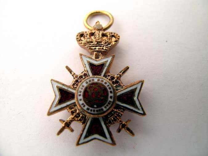 eMedals-ORDER OF THE CROWN – MINIATURE
