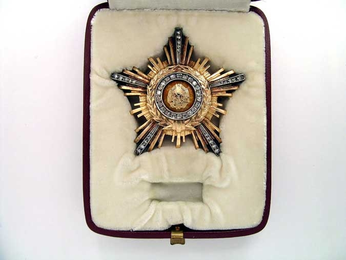 eMedals-ORDER OF THE STAR OF THE ROMANIAN PEOPLE'S