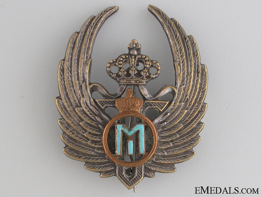 eMedals-Romanian WWII Michael Cypher Observer Badge
